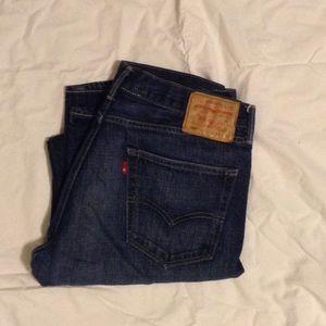 Levi's 505 34x34 jeans.